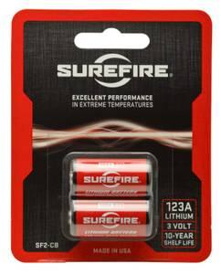 Bilde av Surefire lithiumbatterier SF2-CB